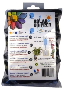 Kit d'arrosage automatique de jardin, Solar-Dripper ©