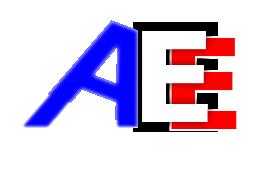 Logo du site Agent Economique avec des textes blancs